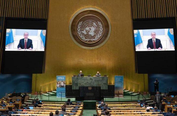 Kazakistan Cumhurbaşkanı Kasım Jomart Tokayev: Türkistan Bölgesi Ülkelerine Güvenlik Garantisi Verilmelidir