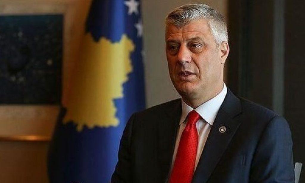 Kosova Cumhurbaşkanı Hashim Thaçi görevinden istifa etti