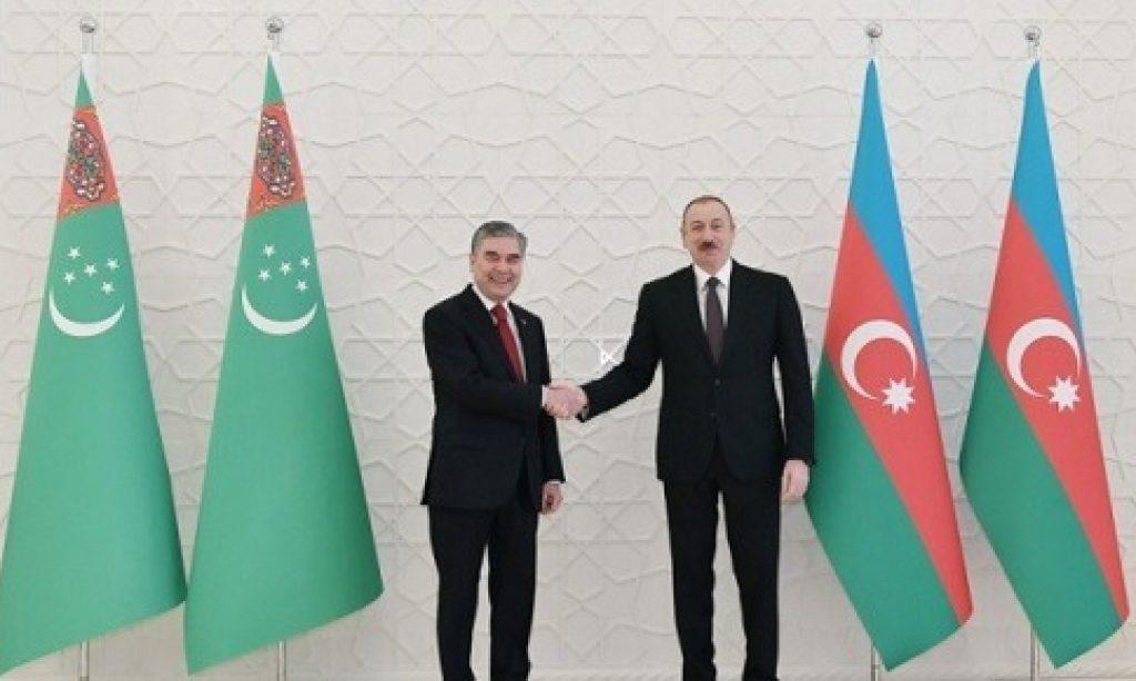 Türkmenistan ile Azerbaycan Arasında Dostluk ve İşbirliği Görüşmeleri