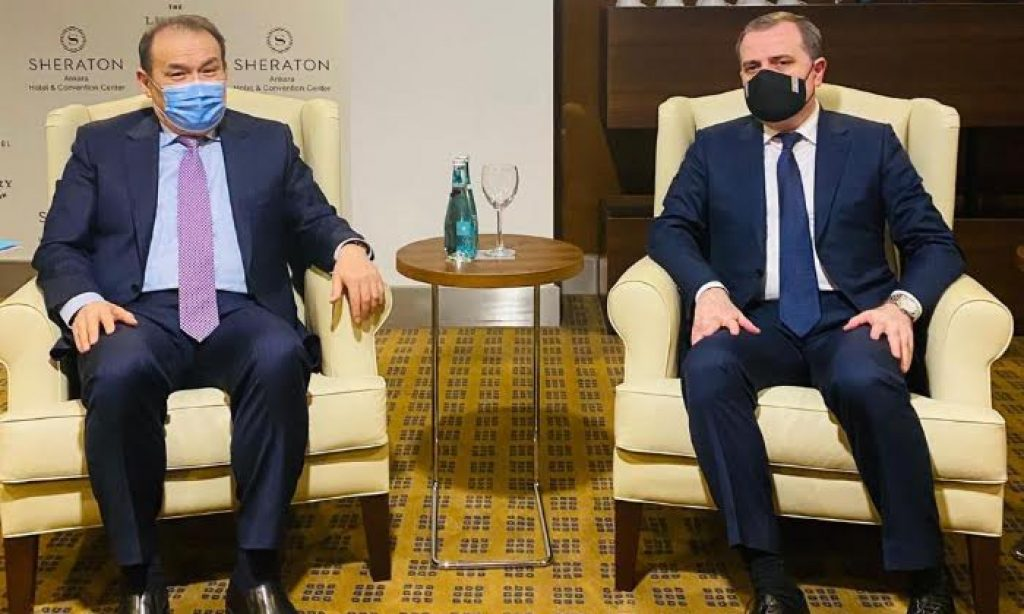 Türk Keneşi Genel Sekreteri, Azerbaycan Dışişleri Bakanı ile Görüştü
