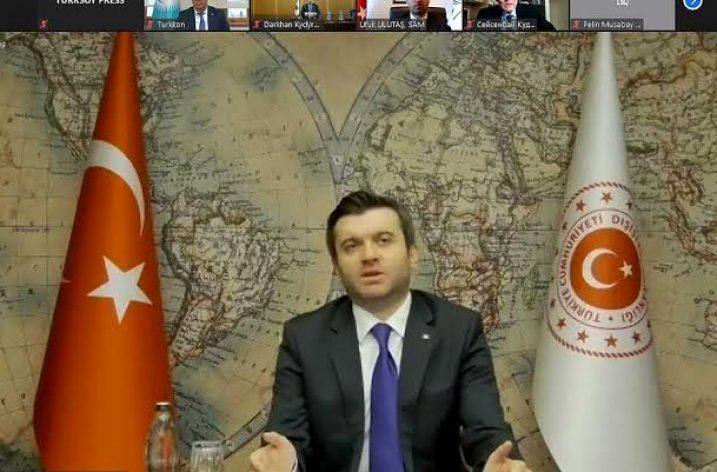 """Dışişleri Bakan Yardımcısı Kıran: """"Türk Dünyası Ancak Birlik Olursa Dirliğe Kavuşur"""""""