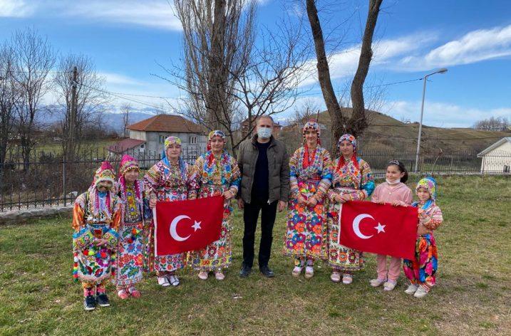T.C Üsküp Büyükelçiliğinden Merkez Jupa Türklerine Ziyaret