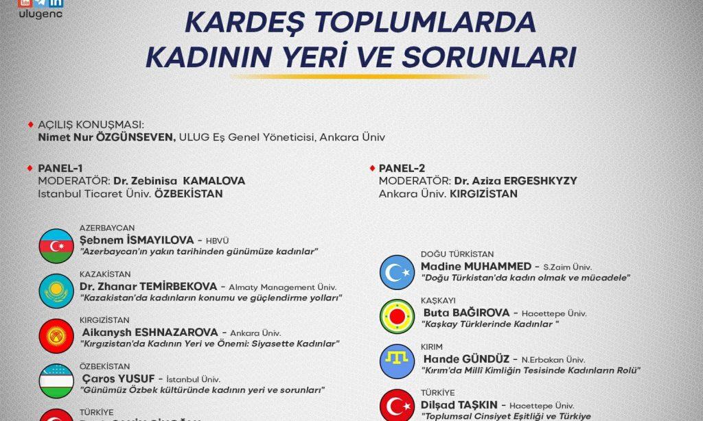 """""""Kardeş Toplumlarda Kadının Yeri ve Sorunları"""" temalı seminer gerçekleştirildi"""